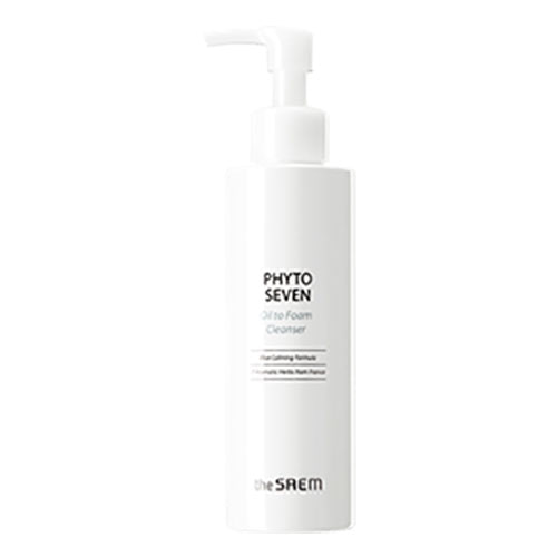 the SAEM PHYTO SEVEN Oil to Foam Cleanser 180ml