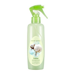 NATURE REPUBLIC Skin Smoothing Body Peeling Mist Cotton 250ml