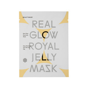 BEAUTYMORY Real Glow Royal Jelly Mask 1ea