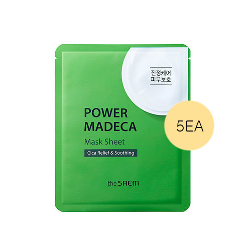 the SAEM Power Madeca Mask Sheet 5ea