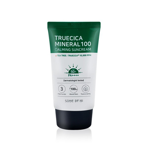 SOME BY MI True Cica Mineral 100 Calming Sun Cream SPF50+ PA++++ 50ml