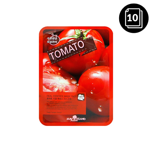 MAY ISLAND Tomato Real Essence Mask Pack 10ea