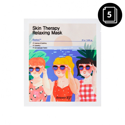 Answer19+ Skin Therapy Relaxing Mask 5ea