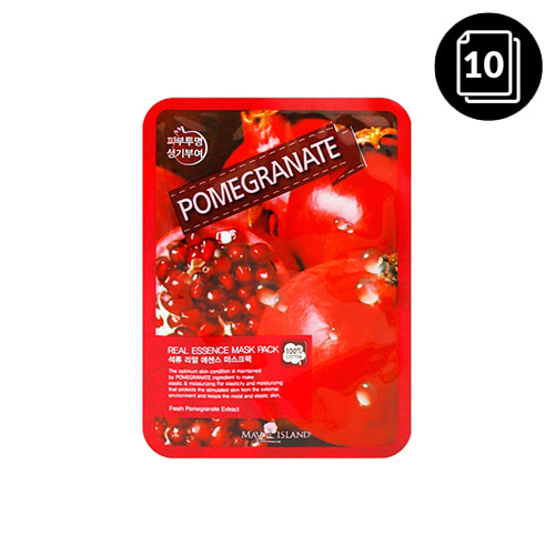 MAY ISLAND Pomegranate Real Essence Mask Pack 10ea