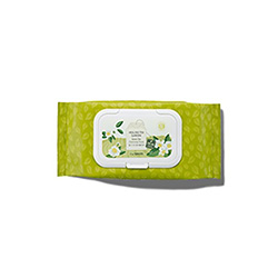 the SAEM  Healing Tea Garden Green Tea Cleansing Tissue 60ea